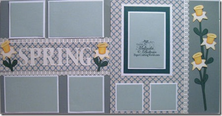 cricut spring daffodil layout-500