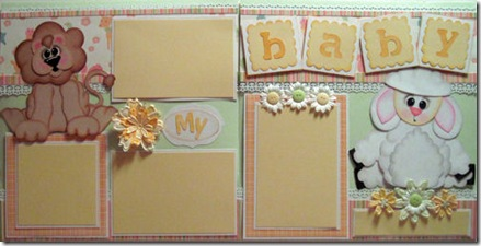 cricut lion and lamb my baby by melin=500b