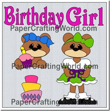 birthday girl set-350j
