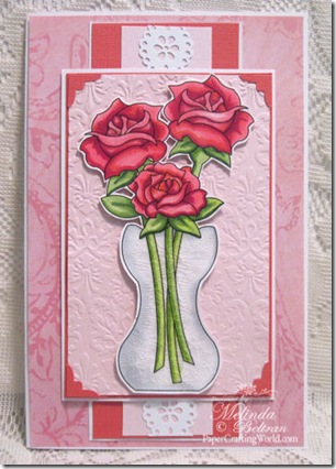 rose in vase card 500