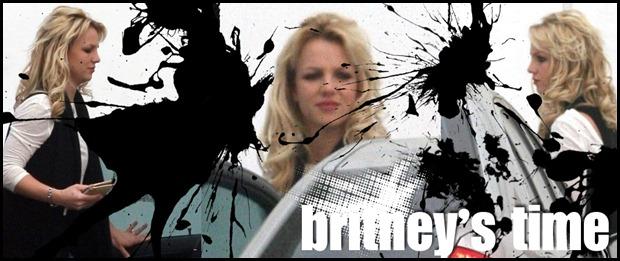 britney arruma o cabelo para sua feta
