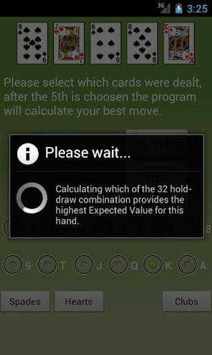 Video Poker Assistant - screenshot