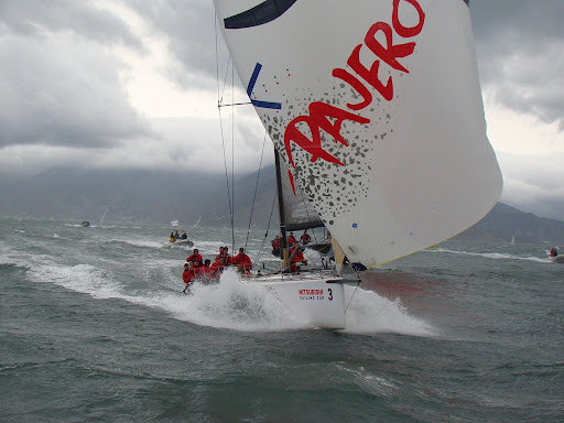 The Saturday race was very windy, started in 23 knots and finished in over ...