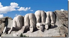 Backside of Mt.Rushmore??