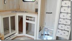 Cabinets,closet,shelves