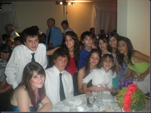 Santi and his cousins