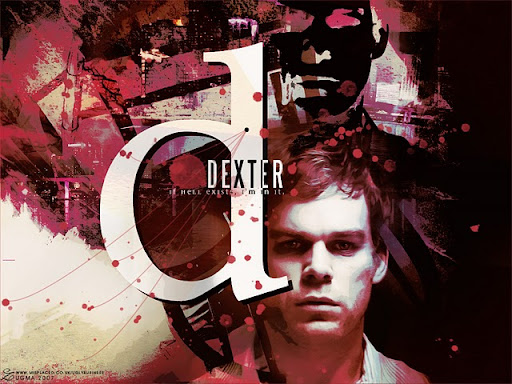 Pster da srie &quot;Dexter&quot; do canal Showtime (imagem de divulgao)