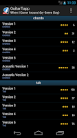 Screenshot of GuitarTapp - Tabs & Chords