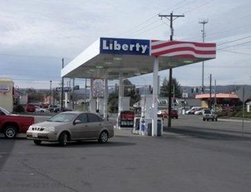 Liberty, Gasoline