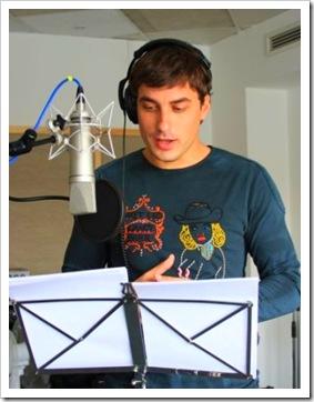 Владо Карамазов озвучава Принц Навийн. Снимка: Форум филм България