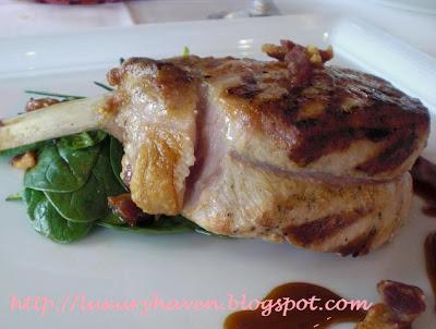il lido italian restaurant sentosa grilled pork chop