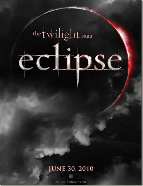 Eclipse - The twilight saga - Locandina