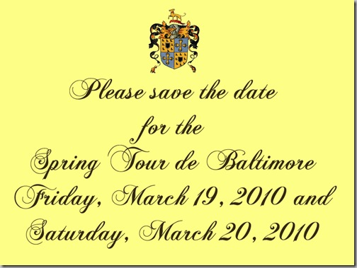 save the date 2010