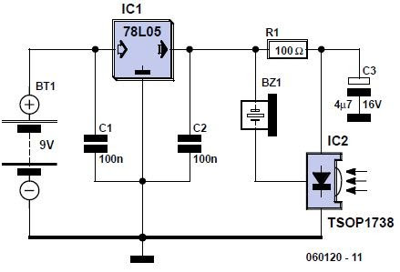Water Level Detector moreover 2013 likewise Index7 likewise Energy p010 besides Pir Sensor Circuits. on making a buzzer circuit