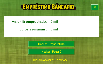 Novo, Hack, funcionando, Cheat 'o Matic, Brasfoot 2010
