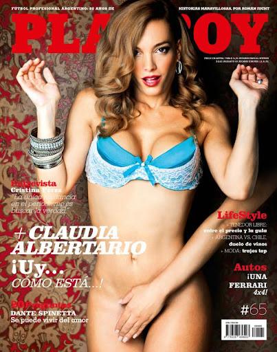 Revista: Playboy [Argentina] - Claudia Albertario [PDF | Español | 101.44 MB]