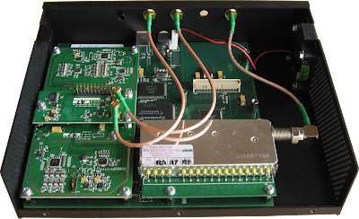 The USRP with WBX and TVRX daughterboards
