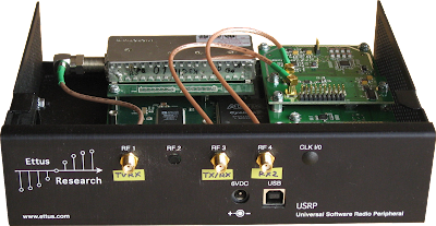 USRP front view