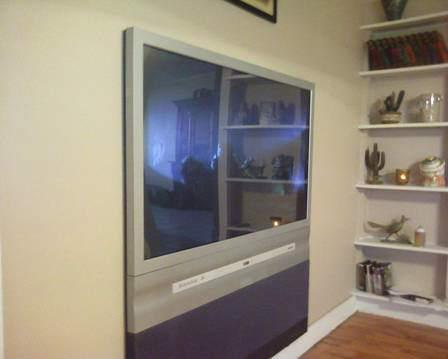 Sardar's Flat Screen TV!!!
