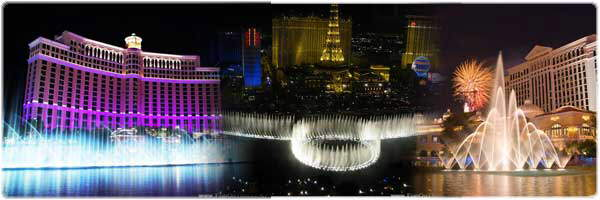 Breathtaking Bellagio Fountains in Las Vegas
