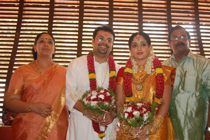 Kavya Madhvan's wedding ...exclusive photos