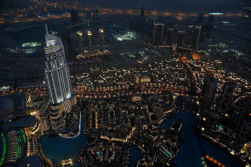 Burj Khalifa - A view from the top