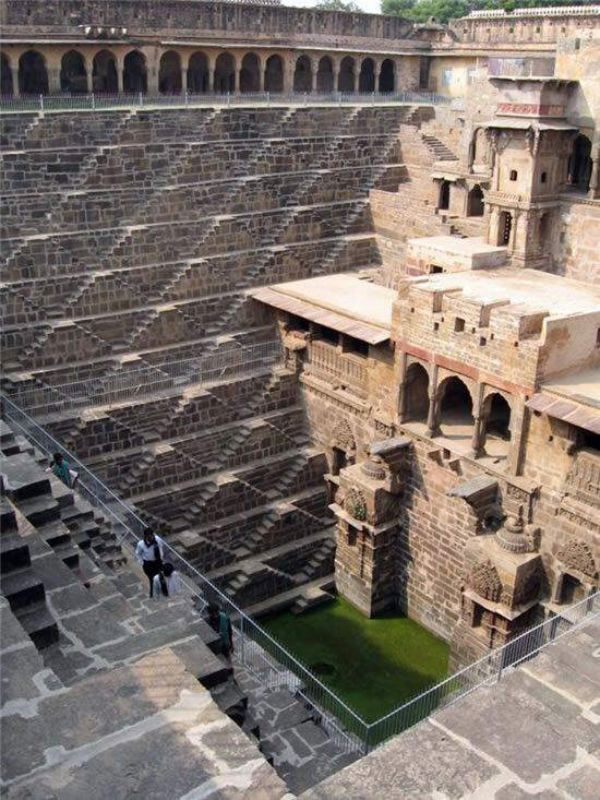 Chand Baori - The Deepest Step Well in the World