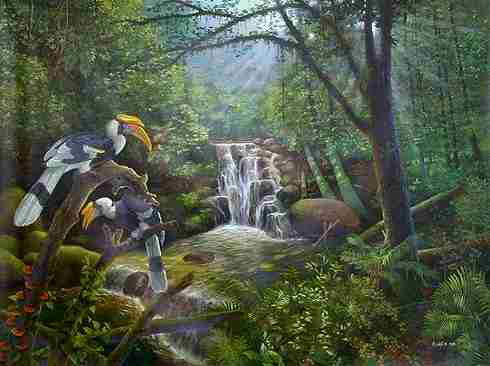 Cool Nature Paintings....