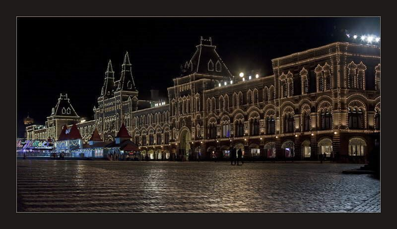 Moscow at Night - RUSSIA - A Beautiful collection of 23 photos