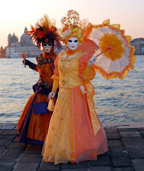 Photos from Carnivals in Germany and Venice