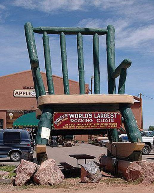 World's Largest Useless Things