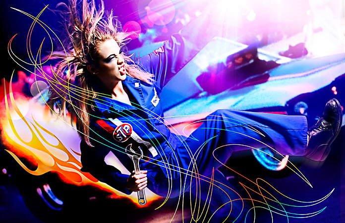 A Splash of Color - Swirled/Grunge/Trendy Color Art