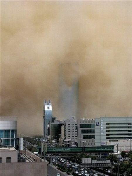 Saudi Arabia covered under Sand Storm