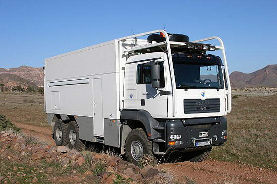 Garbage Truck Converted to a Mobile Home
