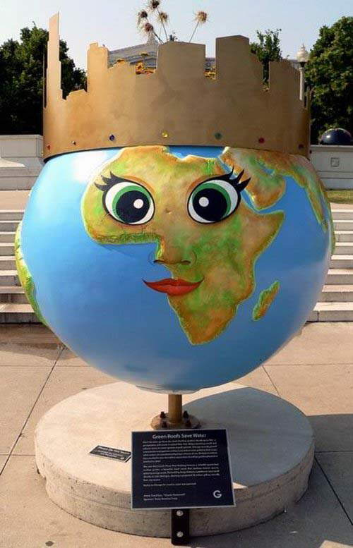 Creative Globes... The World that we Live in