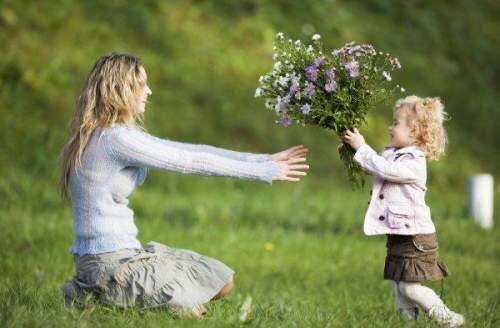 Mom & Daughter - A Cute Relation