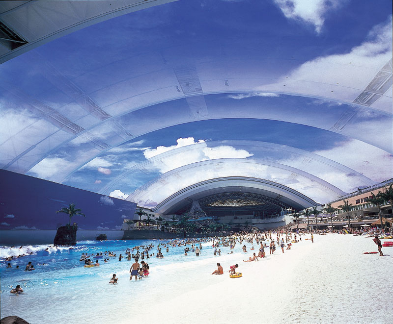 Japan's Oceandome - Prepare for the beach of the future