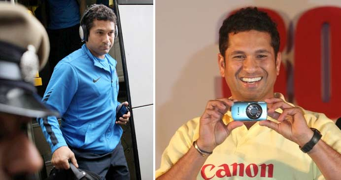 Sachin-Mania: Some Unseen Photos of Sachin!