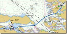Waddington Bay Route