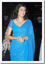 sushmita sen in blue