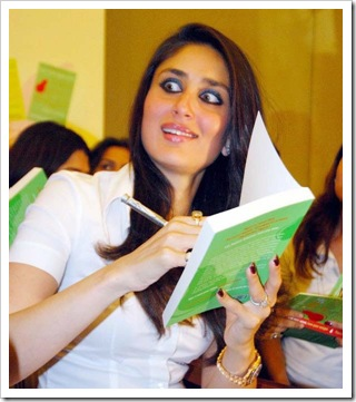 kareena kapoor at a bool launch _ Lose your weight