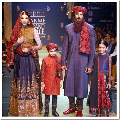 Sabyasachi's LFW collection II