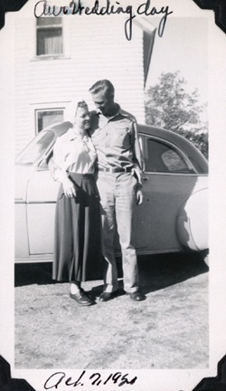 Mom and Dads Wedding Day 1950