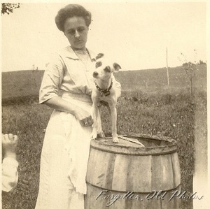 Lady and Dog PR