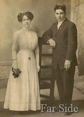 June 29 1911 Frank and Mae  nee Abbott Lemon copy