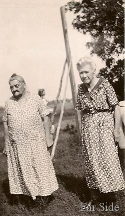 Martha and  Sarah Jane Lemon