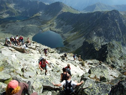 voller Gipfel Svinica