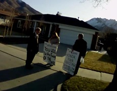 Matheson Protest