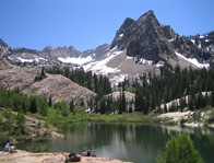 Lake Blanche 7 4 05