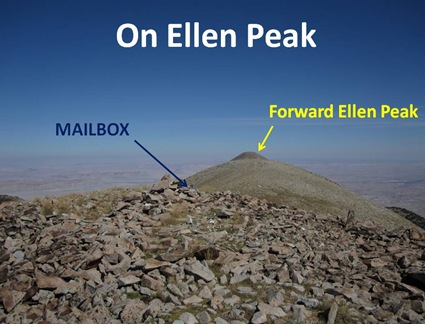 On Ellen Peak